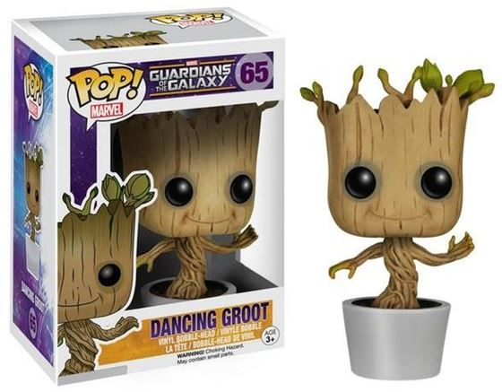 תמונה של גרוט - Guardians Of The Galaxy Baby Groot Pop