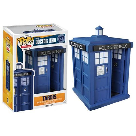 תמונה של Doctor Who TARDIS 6-Inch Pop