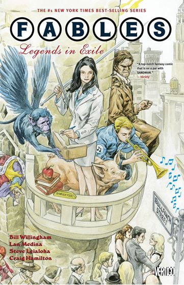 תמונה של FABLES TP VOL 01 LEGENDS IN EXILE
