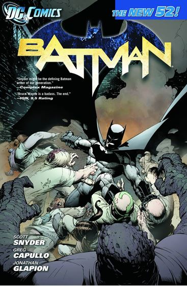 תמונה של BATMAN TP VOL 01 THE COURT OF OWLS
