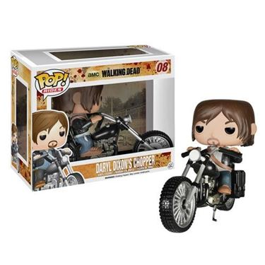 תמונה של The Walking Dead Daryl Dixon with Chopper Pop