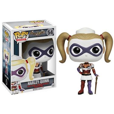 תמונה של Batman Arkham Asylum Nurse Harley Quinn Pop
