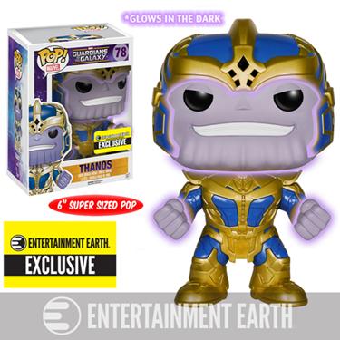 תמונה של Guardians of the Galaxy Thanos Glow-in-the-Dark 6-Inch Pop