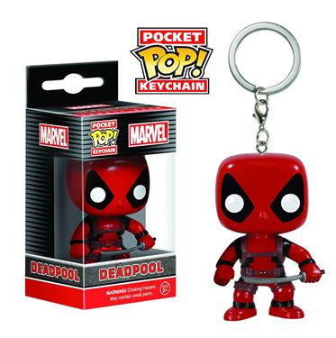 תמונה של POCKET POP MARVEL DEADPOOL VINYL FIG KEYCHAIN