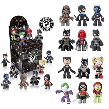 תמונה של Batman Arkham Series Boxed Mystery Minis