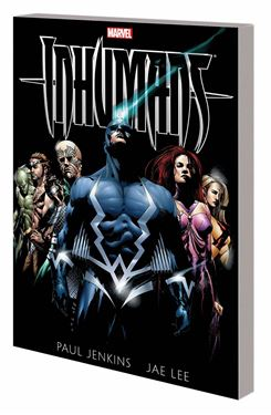 תמונה של INHUMANS BY PAUL JENKINS AND JAE LEE TP