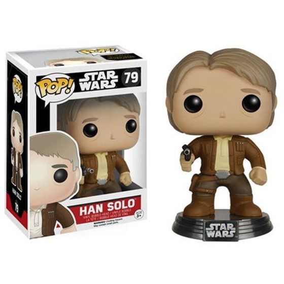 תמונה של Star Wars: The Force Awakens Han Solo Pop