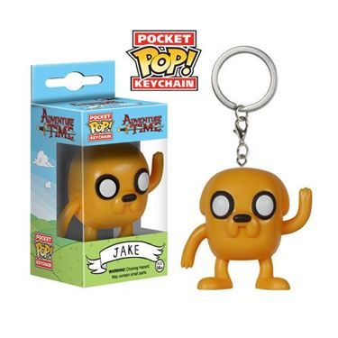 תמונה של Adventure Time Jake Pocket Pop! Vinyl Figure Key Chain