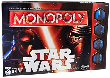 תמונה של  Star Wars Force Awakens Monopoly