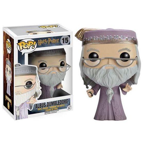 תמונה של Harry Potter Dumbledore with Wand Pop