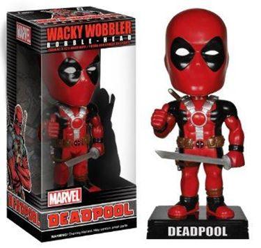 תמונה של deadpool wacky wobbler.