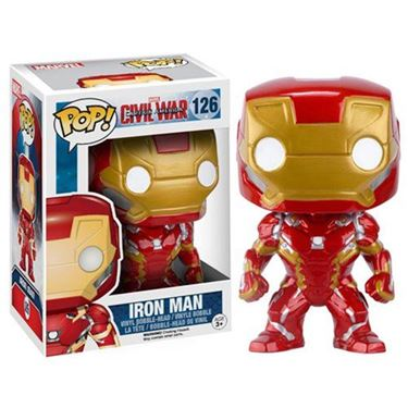 תמונה של Captain America: Civil War Iron Man Pop