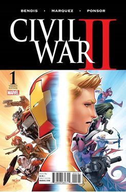 תמונה של CIVIL WAR II #1 (OF 7) MARQUEZ VAR