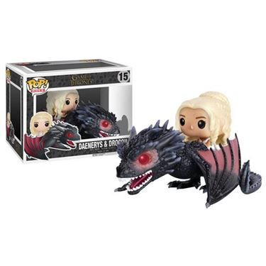 תמונה של Game of Thrones Drogon Vehicle with Daenerys Pop