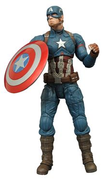 תמונה של MARVEL SELECT CAP AMER 3 CAPTAIN AMERICA AF