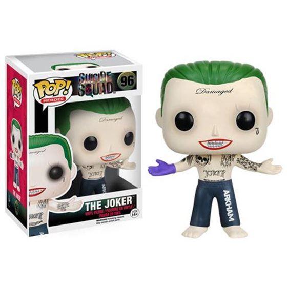 תמונה של Suicide Squad Shirtless Joker Pop