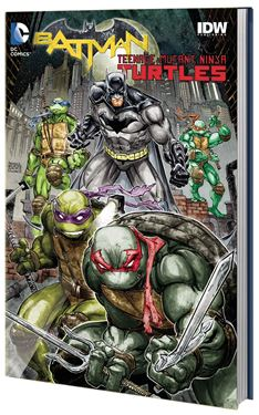 תמונה של  BATMAN TEENAGE MUTANT NINJA TURTLES HC