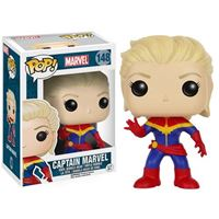 תמונה של  Unmasked Captain Marvel Pop