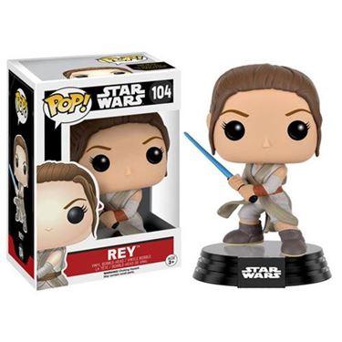 תמונה של Star Wars: E7 Rey with Lightsaber Pop