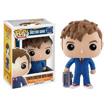 תמונה של Doctor Who 10th Doctor with Hand Pop