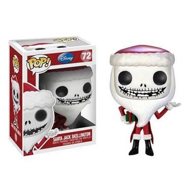 תמונה של Nightmare Before Christmas Santa Jack Pop