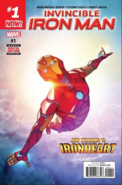 תמונה של  INVINCIBLE IRON MAN #1