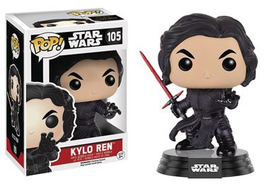 תמונה של POP STAR WARS E7 BATTLE DAMAGED KYLO REN