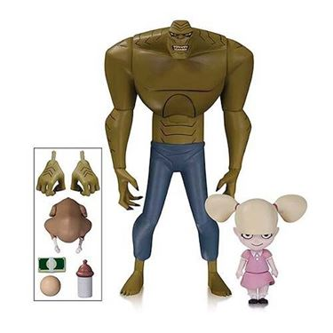 תמונה של Animated Series New Batman Adventures Killer Croc and Baby Doll Figures