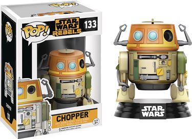 תמונה של POP STAR WARS REBELS CHOPPER