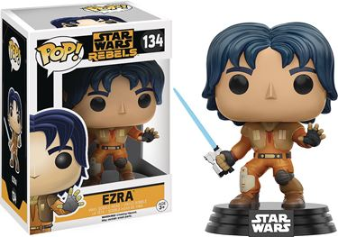 תמונה של POP STAR WARS REBELS EZRA