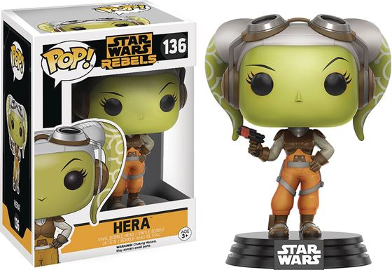 תמונה של POP STAR WARS REBELS HERA