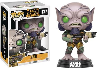 תמונה של POP STAR WARS REBELS ZEB