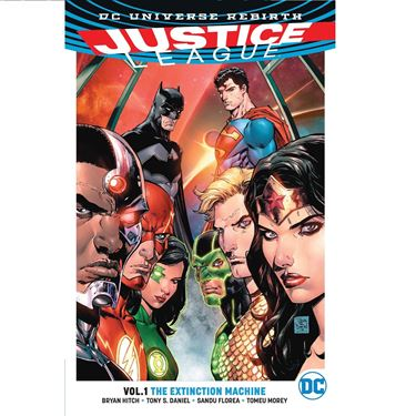 תמונה של JUSTICE LEAGUE TP VOL 01 THE EXTINCTION MACHINES - REBIRTH