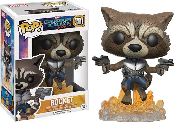 תמונה של POP GUARDIANS OF THE GALAXY VOL2 ROCKET RACCOON