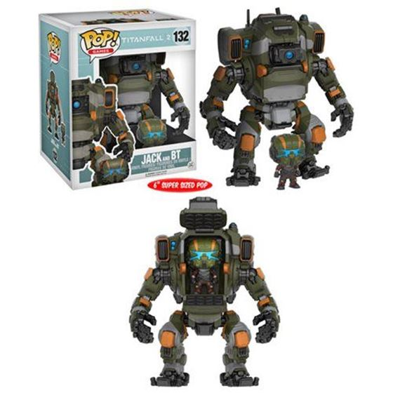 תמונה של Titanfall 2 Jack Pop! Vinyl Figure and BT Titan Vehicle