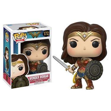 תמונה של וונדרוומן - WONDER WOMAN WITH SWORD AND SHIELD POP