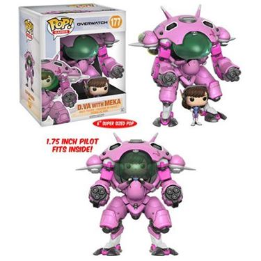 תמונה של Overwatch D.VA and Meka Vehicle Pop