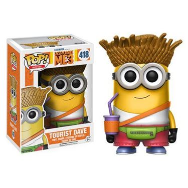 תמונה של Despicable Me 3 Tourist Dave Pop