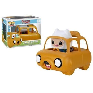 תמונה של Adventure Time Jake Car with Finn Figure
