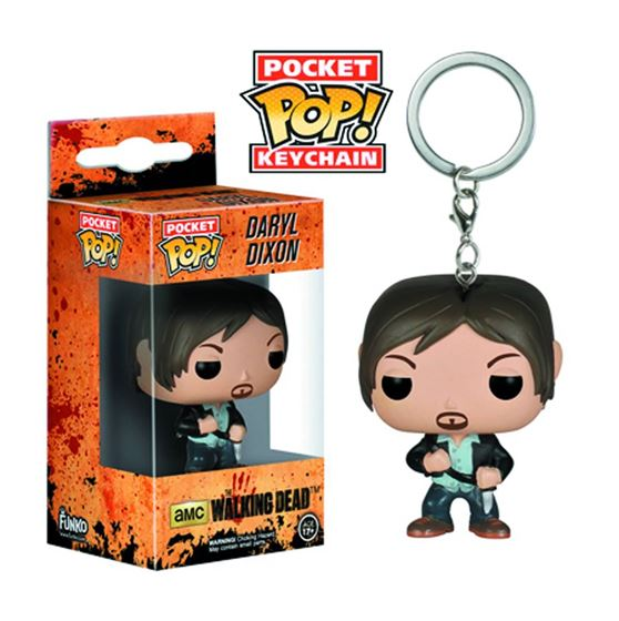 תמונה של POCKET POP DARYL DIXON VINYL  KEYCHAIN