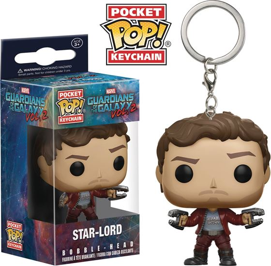 תמונה של POCKET POP GOTG VOL 2 STAR-LORD KEYCHAIN
