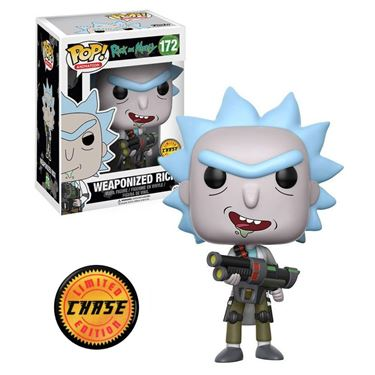 תמונה של Rick and Morty Weaponized Rick Pop Chase ED.