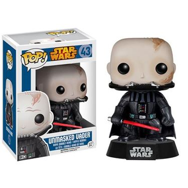 תמונה של Star Wars Darth Vader Unmasked Pop