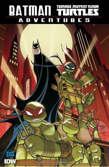 תמונה של BATMAN TEENAGE MUTANT NINJA TURTLES ADVENTURES TP