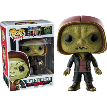 תמונה של  Suicide Squad: Hooded Killer Croc Pop