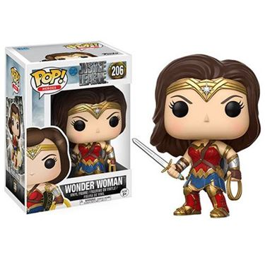 תמונה של Justice League Movie Wonder Woman Pop