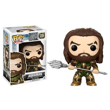 תמונה של Justice League Movie Aquaman Pop