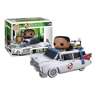 תמונה של Ghostbusters Winston Zeddemore and Ecto-1 Pop
