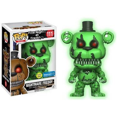 תמונה של FIVE NIGHTS AT FREDDY'S NIGHTMARE FREDDY POP GITD