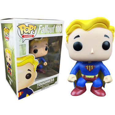 תמונה של Fallout Toughness Vault Boy Pop